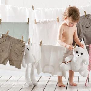 Tvätta kläder